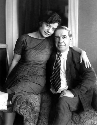 Charles Ponzi assieme a Rose Gnecco