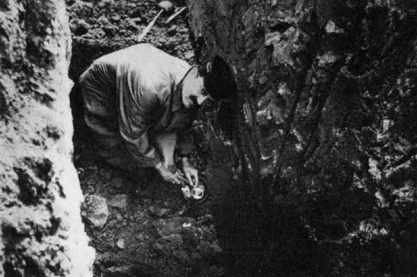 Ossegg scava
