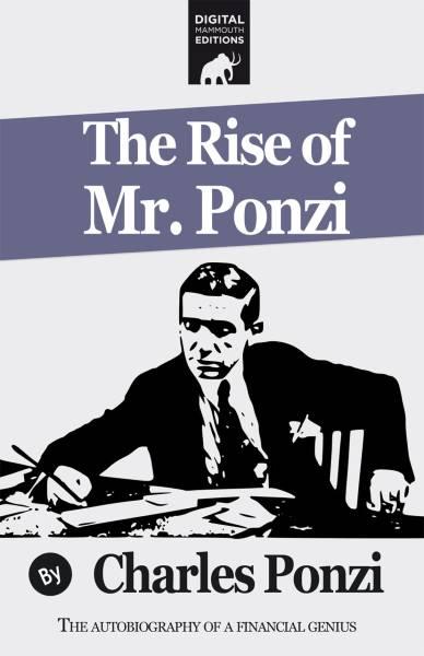 Copertina autobiografia Charles Ponzi