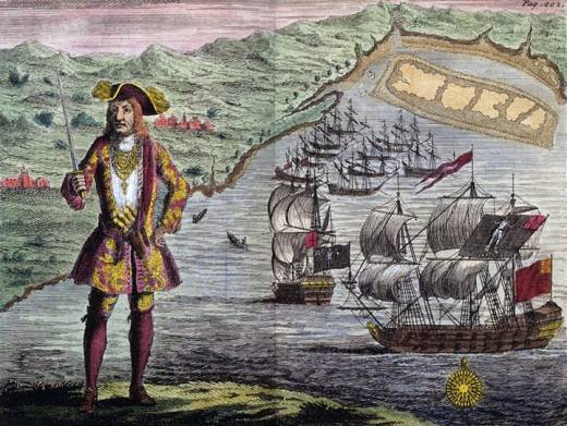 black bart pirata
