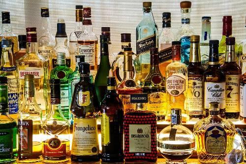 bottiglie di liquore