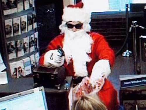 Babbo Natale rapinatore