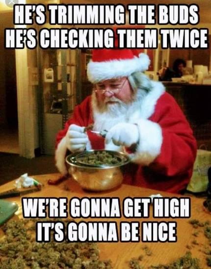 Santa Claus marijuana