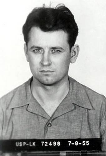 James Earl Ray, l'assassino di Martin Luther King in una foto segnaletica