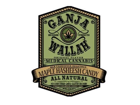 Logo Ganja Wallah