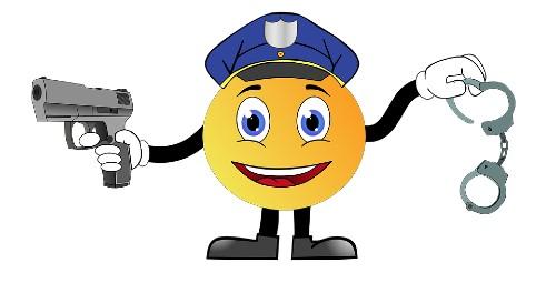 Poliziotto emoticon