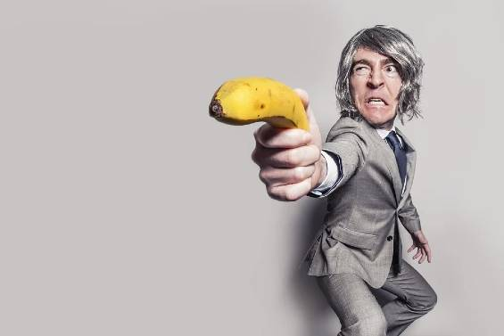 Pistola banana
