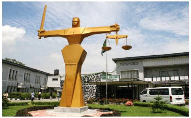 Il tribunale di Lagos
