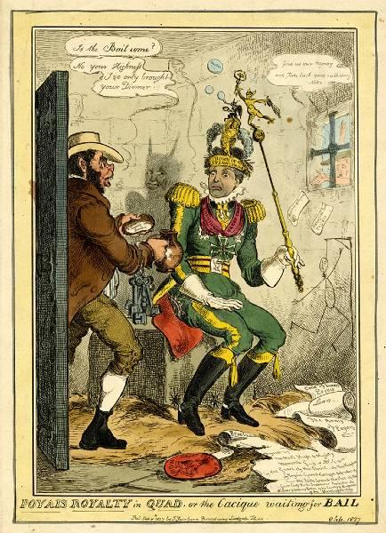 Vignetta Satirica Gregor MacGregor