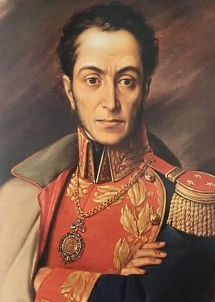 Simon Bolivar arrabbiato