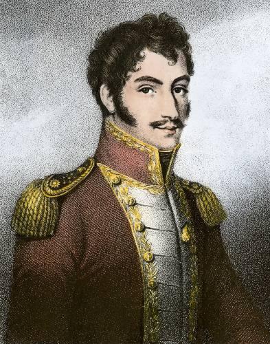 Simon Bolivar contento