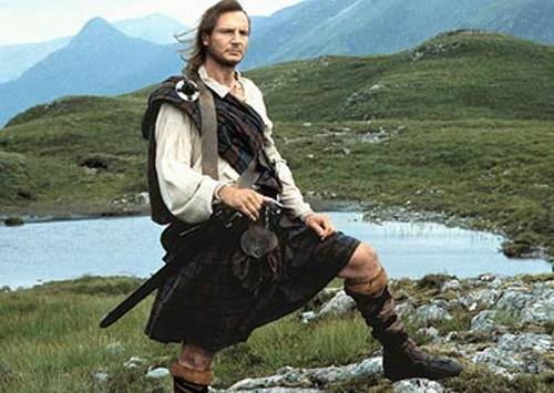 Liam Neeson Rob Roy MacGregor