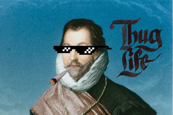 La placca di Francis Drake