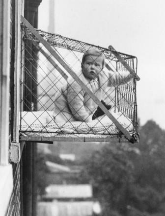 John Duval Gluck gabbia per bambini