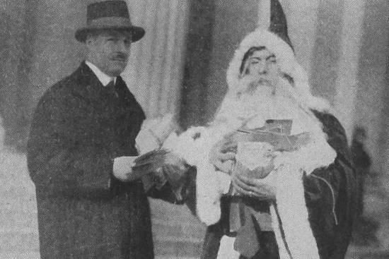 John Duval Gluck e Santa Claus