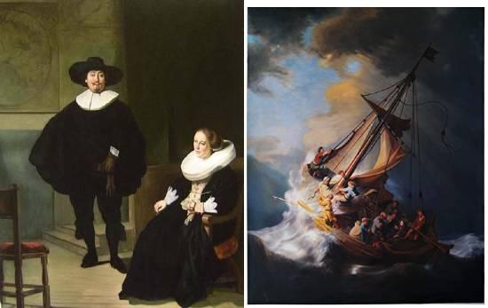 quadri di Rembrandt furto di quadri