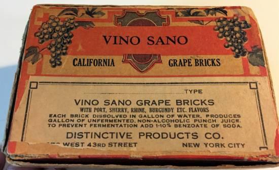mattoni di vino