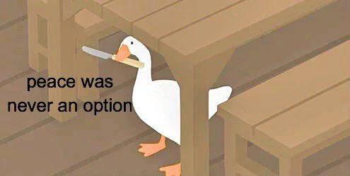 animali criminali - goose