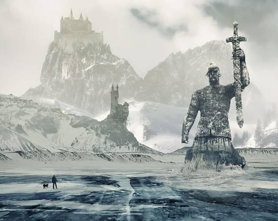 montagna fantasy