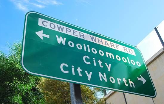 Cartello di Woolloomooloo